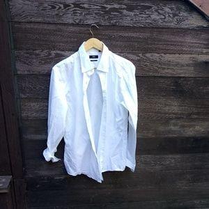 Hugo Boss White button down shirt